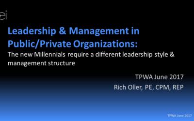 Millennials – Leadership and Management
